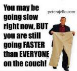 pete faster than everyone on couch