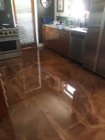 Epoxy Brown Metallic