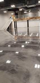Jazwares Satin Finish Concrete Grey Metallic Epoxy Floors3