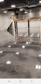 Jazwares Satin Finish Concrete Grey Metallic Epoxy Floors4